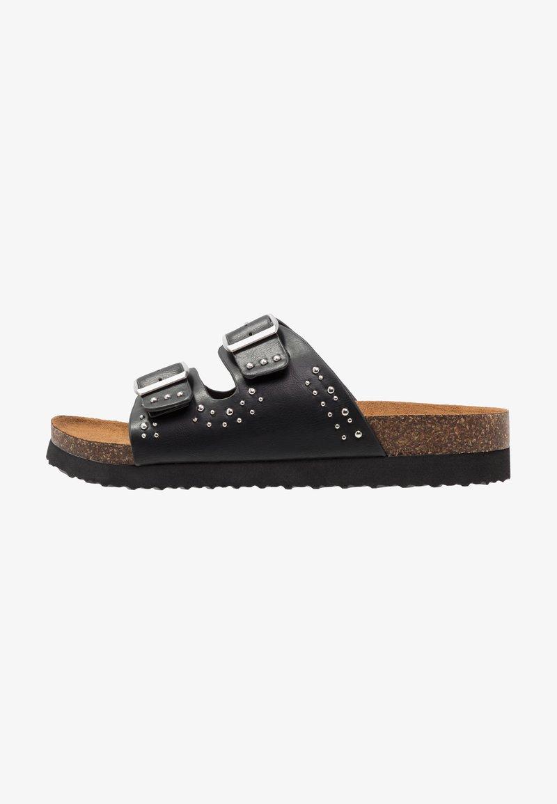 ONLY SHOES - ONLMATHILDA STUD SLIP ON - Sandaler - black