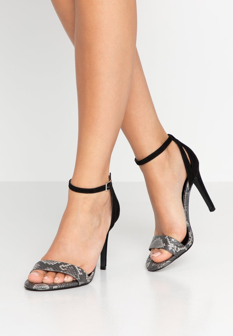 ONLY SHOES - ONLAILA   - High heeled sandals - black