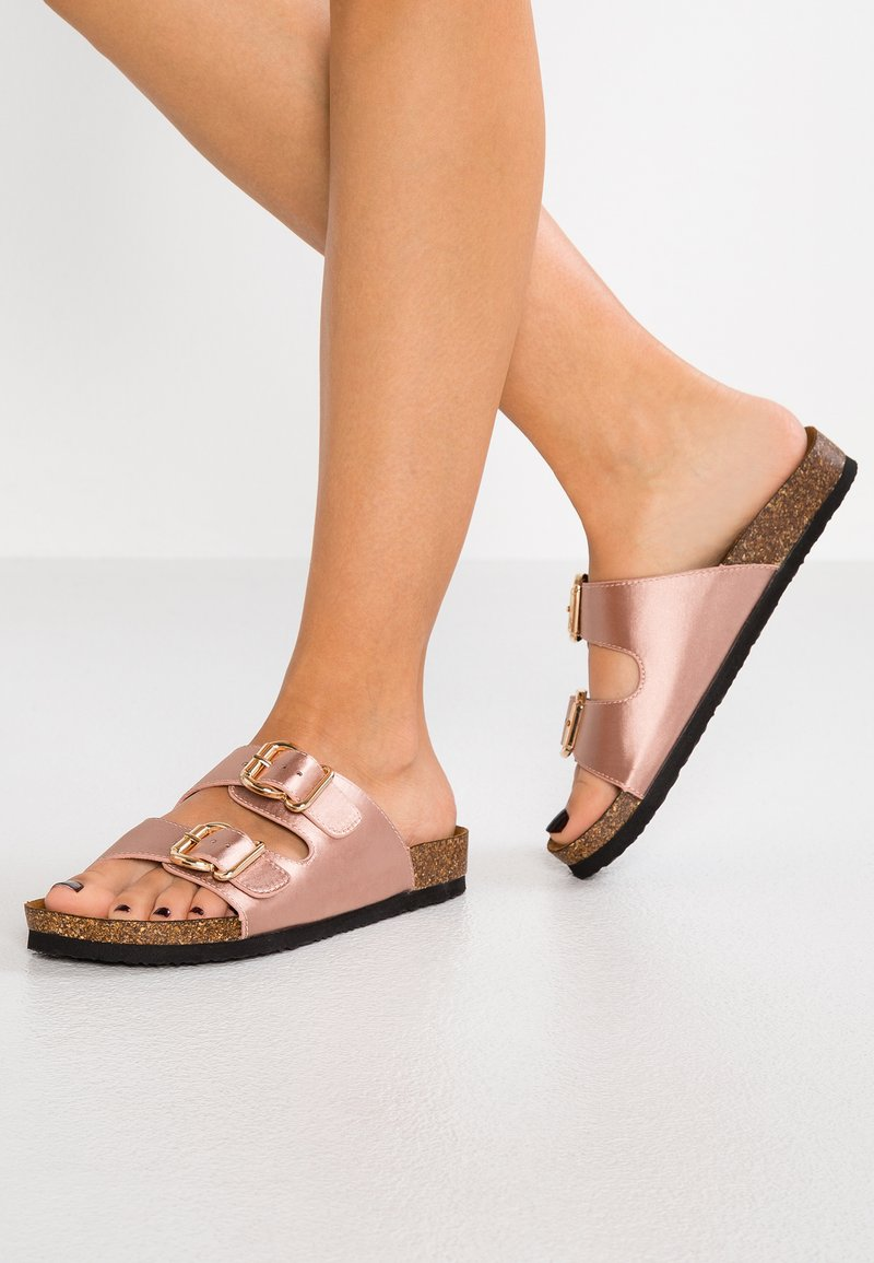 ONLY SHOES - ONLMATHILDA SLIP ON  - Mules - light pink