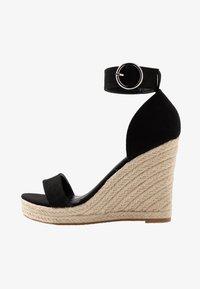 ONLY SHOES - Sandály na vysokém podpatku - black - 1