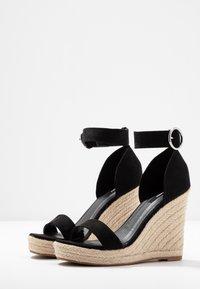 ONLY SHOES - Sandály na vysokém podpatku - black - 4