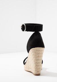 ONLY SHOES - Sandály na vysokém podpatku - black - 5