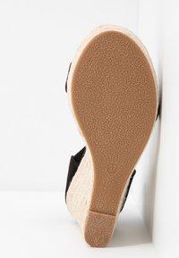 ONLY SHOES - Sandály na vysokém podpatku - black - 6