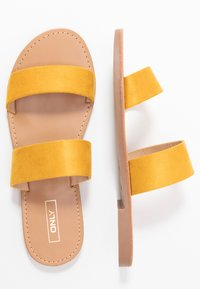 ONLY SHOES - Mules - yellow - 3
