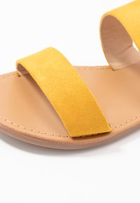 ONLY SHOES - Mules - yellow - 2