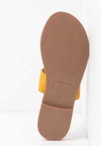 ONLY SHOES - Mules - yellow - 6