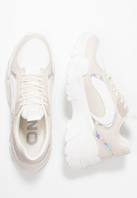 ONLY SHOES - Joggesko - offwhite - 3