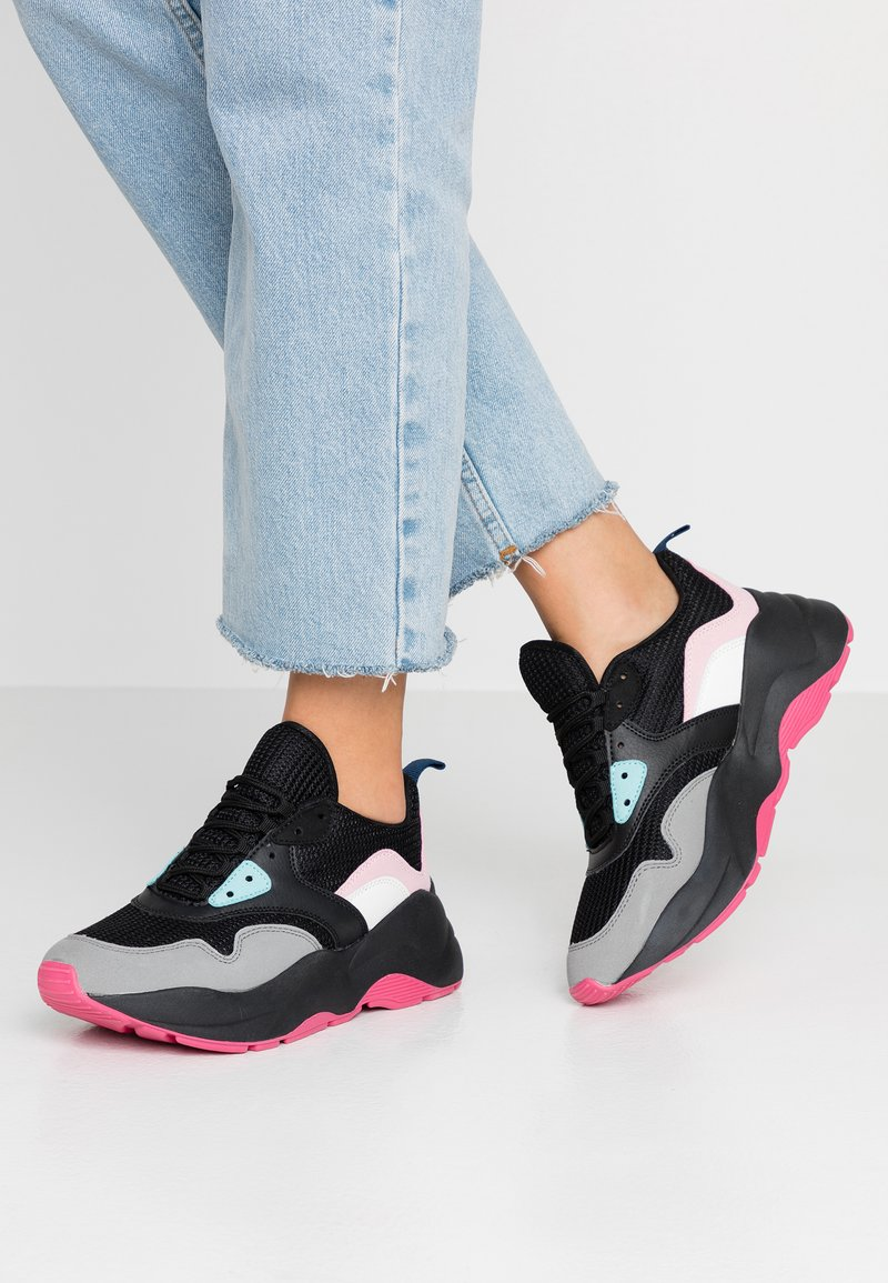 ONLY SHOES - Trainers - black