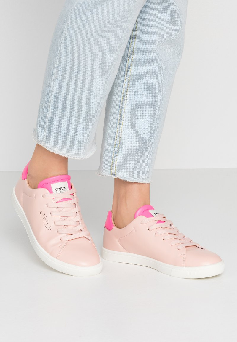 ONLY SHOES - ONLSILJA DETAIL - Trainers - pink