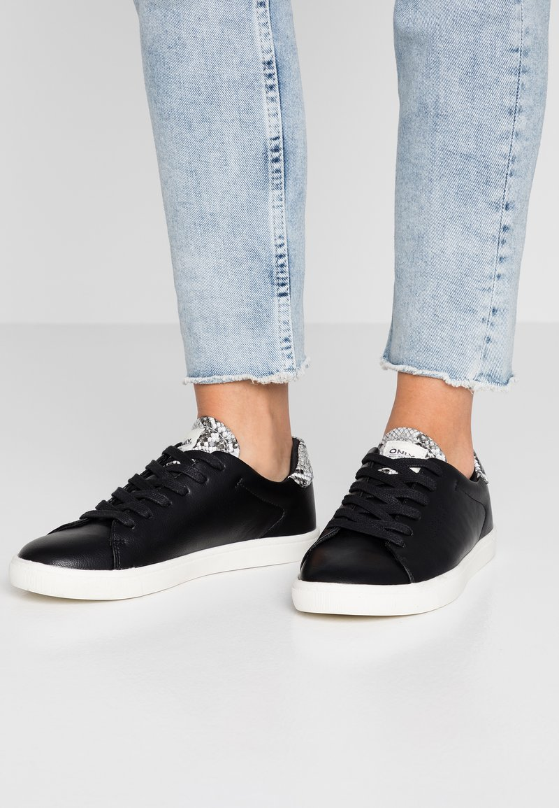 ONLY SHOES - ONLSILJA DETAIL - Sneaker low - black