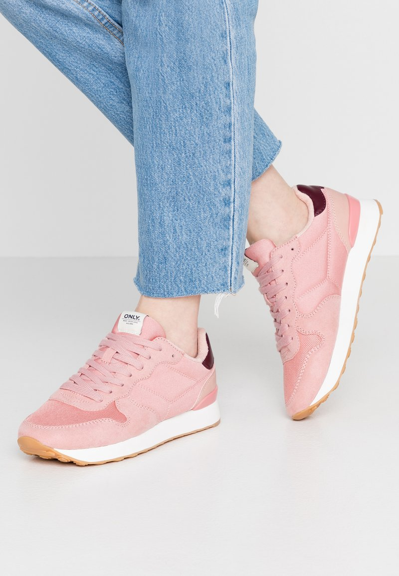 ONLY SHOES - ONLNEW SAHEL - Trainers - rose