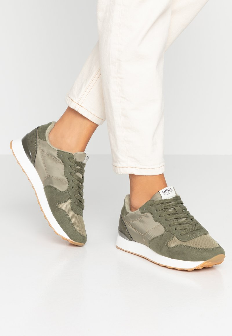 ONLY SHOES - ONLNEW SAHEL - Trainers - khaki