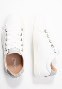 ONLY SHOES - ONLSHILO LACE  - Sneaker low - white - 3