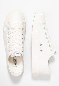 ONLY SHOES - ONLNEW SURI  - Sneaker low - white - 3