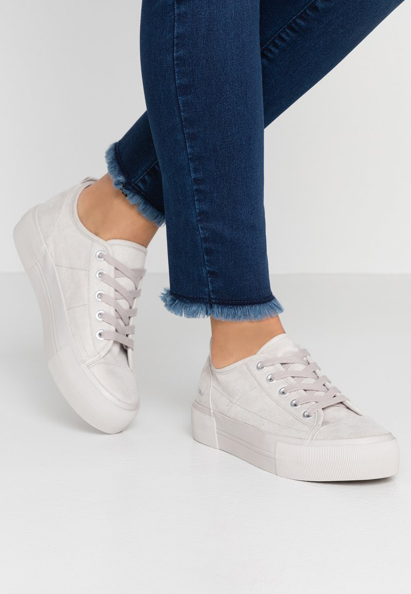 ONLY SHOES - ONLSALONI DETAIL  - Sneakers basse - light grey