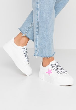 ONLSAILOR STAR - Tenisky - white/pink