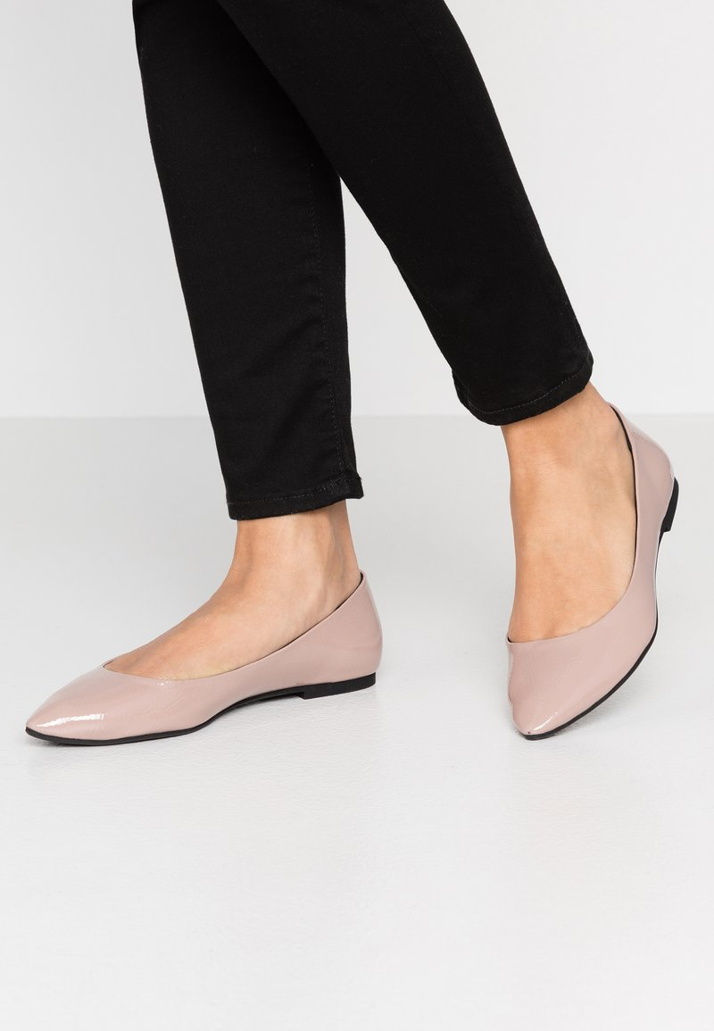 ONLY SHOES - ONLANAS LEO - Ballet pumps - nude