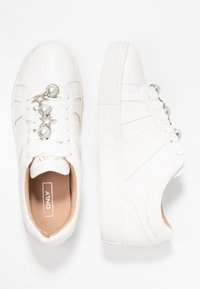ONLY SHOES - ONLSAGE PANEL - Tenisky - white - 3