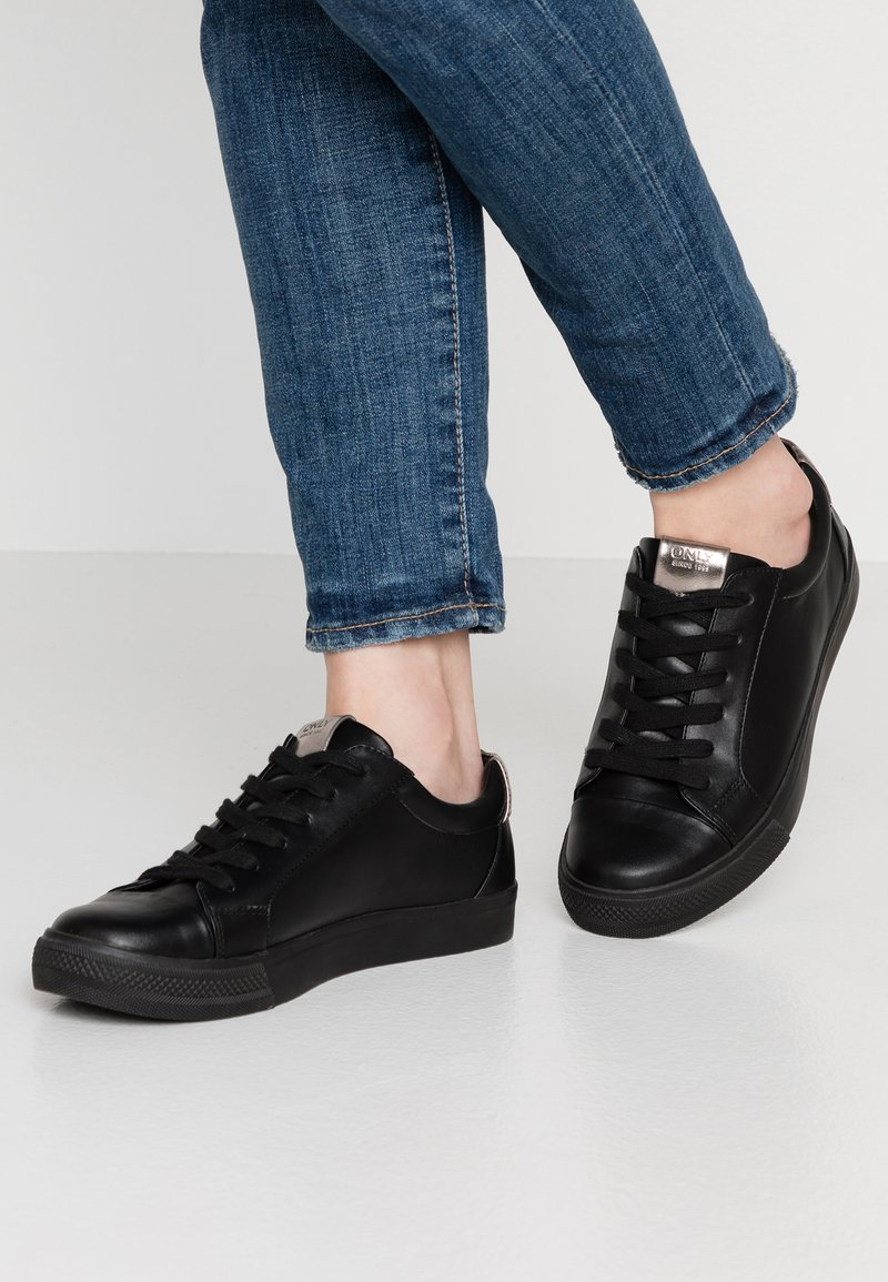ONLY SHOES - ONLSKYE TOE CAP  - Trainers - black