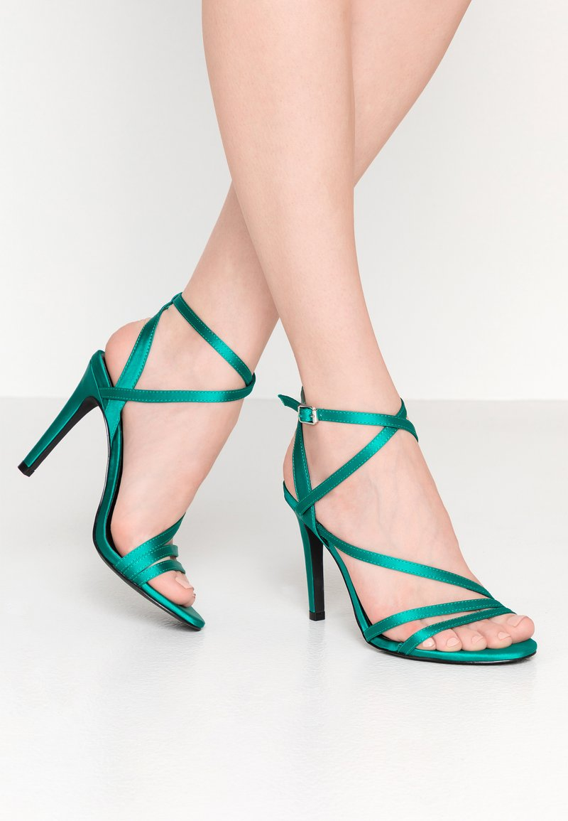 ONLY SHOES - ONLAILA CROSS  - High Heel Sandalette - green