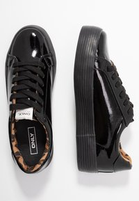 ONLY SHOES - ONLSALONI - Sneakers basse - black - 3
