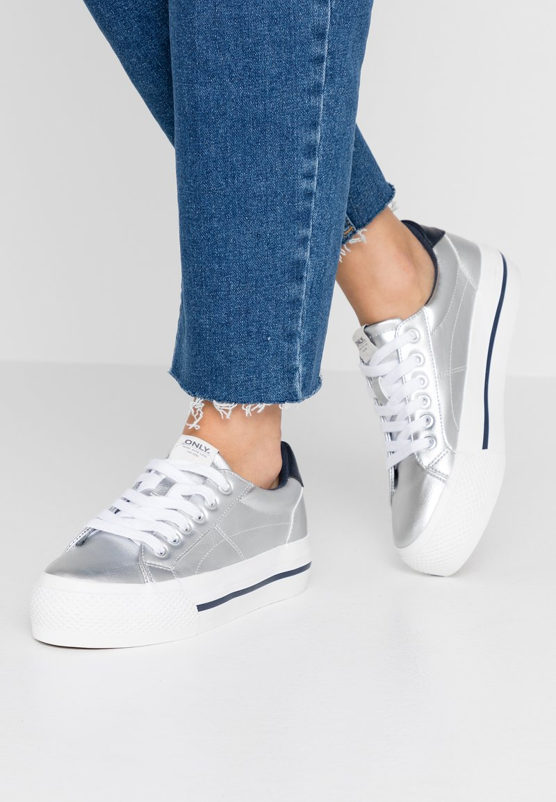ONLY SHOES - ONLSAILOR - Zapatillas - silver