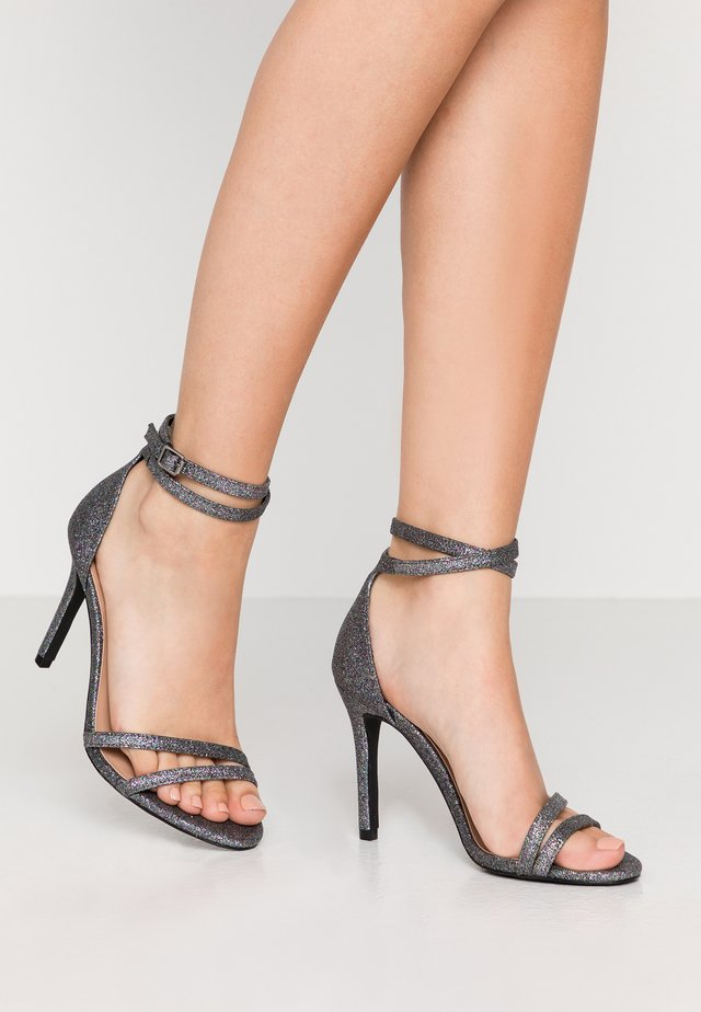 ONLAILA WRAP - High heeled sandals - black