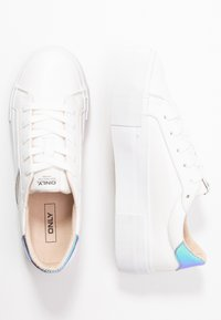 ONLY SHOES - ONLSAILOR - Trainers - white/blue - 3