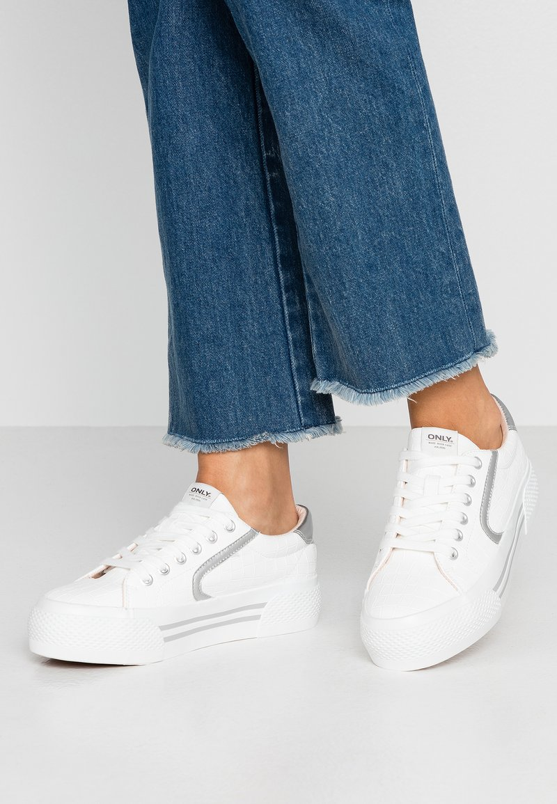 ONLY SHOES - ONLSAILOR - Trainers - white