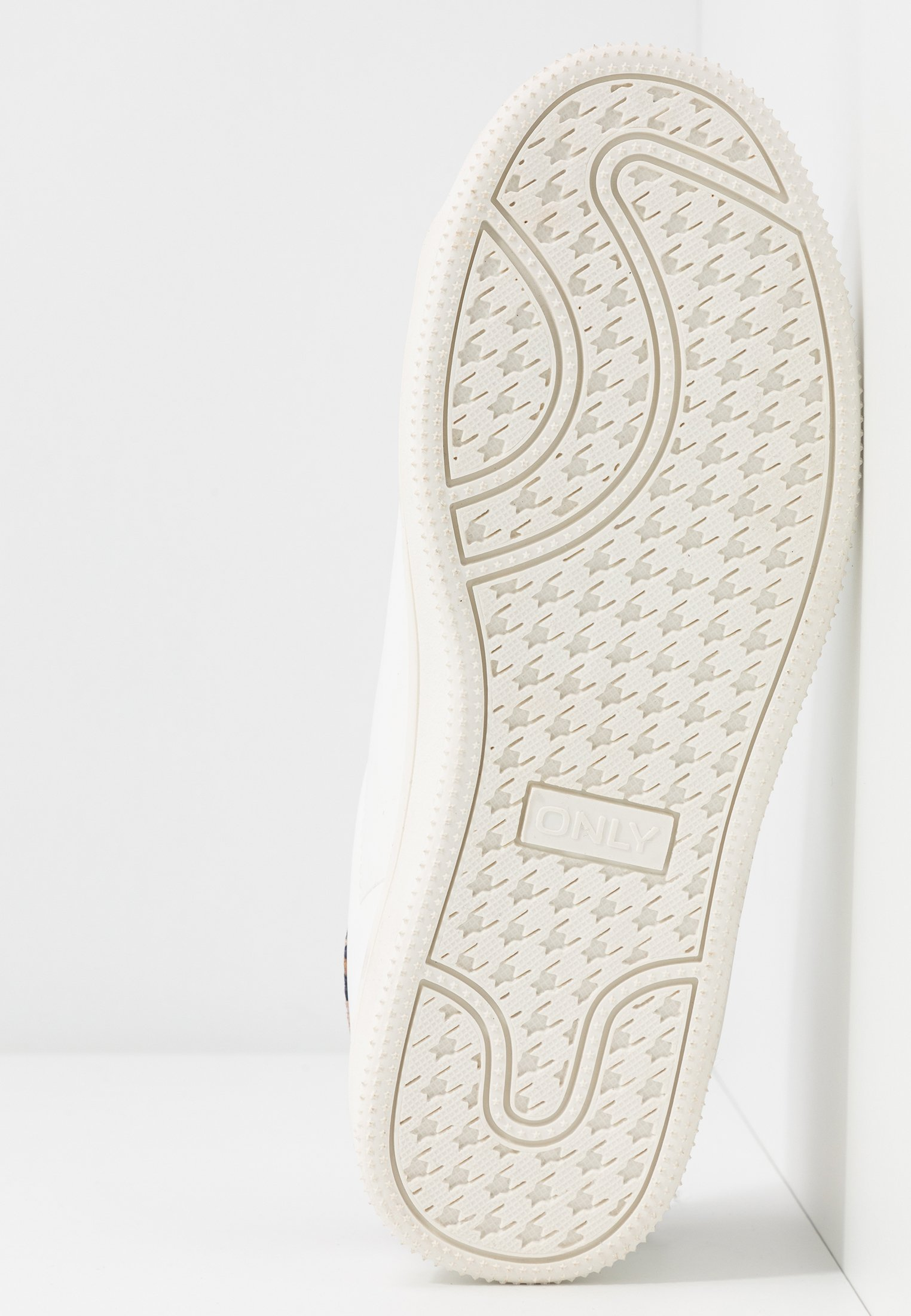 ONLY SHOES ONLSHILO ANIMAL - Sneakersy niskie - white/beige