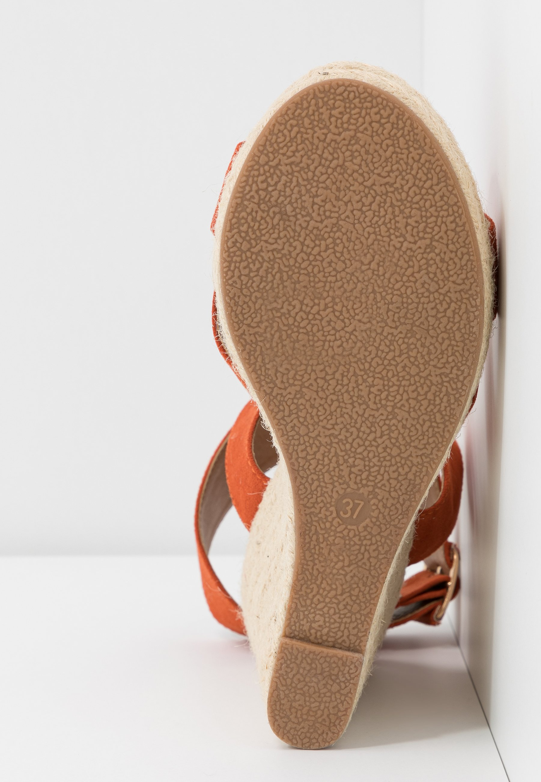 Only Shoes Onlamelia Wrap - Sandalias De Tacón Orange