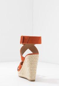 ONLY SHOES - ONLAMELIA WRAP  - Korolliset sandaalit - orange - 5