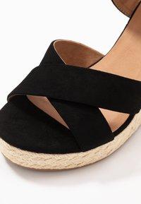 ONLY SHOES - ONLAMELIA WRAP  - Sandalen met hoge hak - black - 2