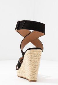 ONLY SHOES - ONLAMELIA WRAP  - Sandalen met hoge hak - black - 5