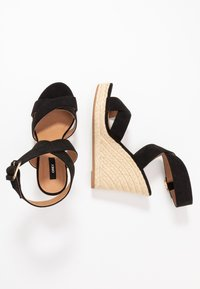 ONLY SHOES - ONLAMELIA WRAP  - Sandalen met hoge hak - black - 3