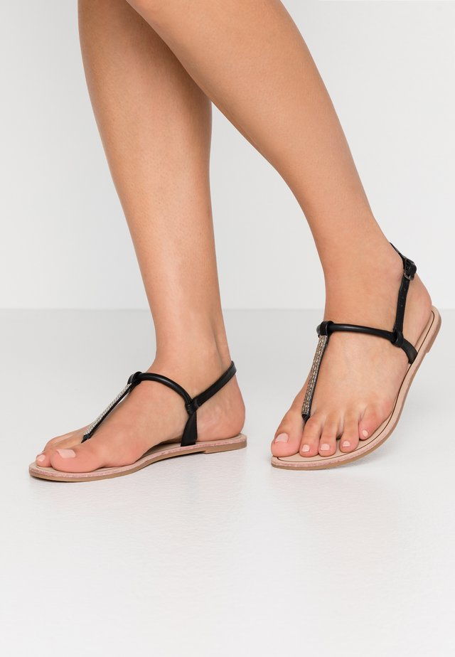ONLMARGIT SPLIT TOE  - Teensandalen - black