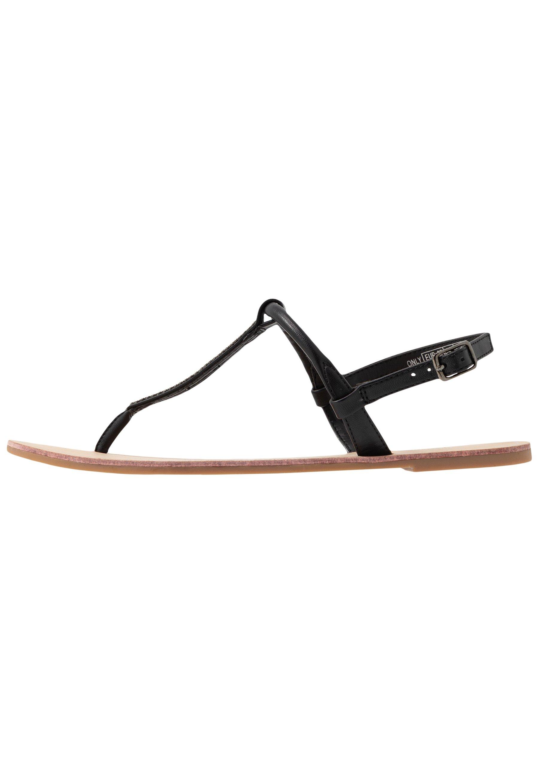 ONLY SHOES ONLMARGIT SPLIT TOE - Sandaler m/ tåsplit - black
