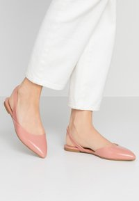 ONLY SHOES - ONLANAS  - Slingback ballet pumps - rose - 0