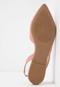 ONLY SHOES - ONLANAS  - Slingback ballet pumps - rose - 6