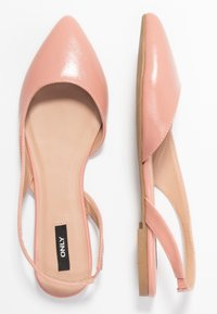 ONLY SHOES - ONLANAS  - Slingback ballet pumps - rose - 3