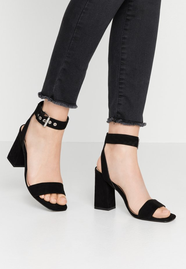 ONLALYX  - High heeled sandals - black