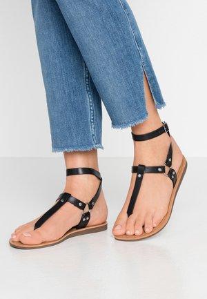 ONLMAYA ANKLE WRAP - Sandály s odděleným palcem - black