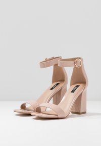 ONLY SHOES - ONLALYX - Korolliset sandaalit - nude