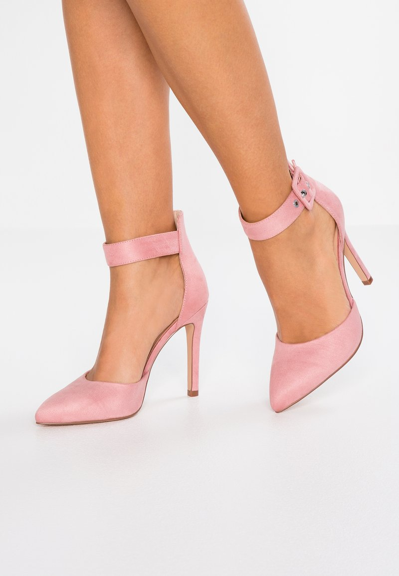 ONLY SHOES - ONLCHLOE BUCKLE  - High heels - rose