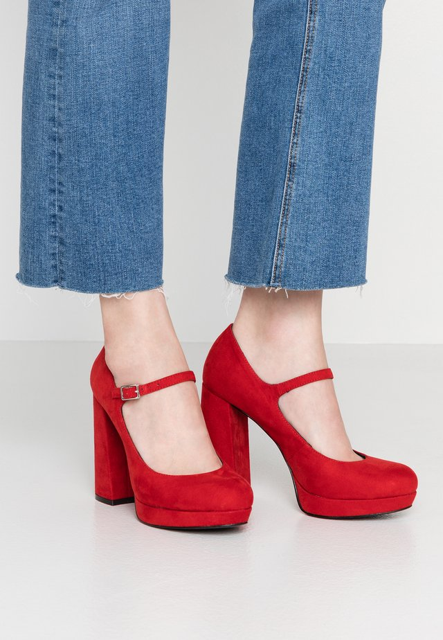 ONLPAIRY - High Heel Pumps - red