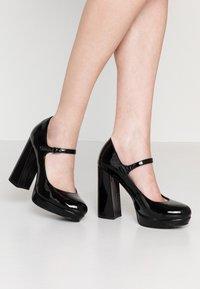ONLY SHOES - ONLPAIRY - Lodičky na vysokém podpatku - black - 0