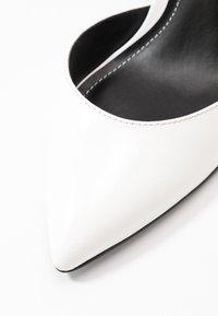 ONLY SHOES - ONLPEACHES  - Lodičky na vysokém podpatku - white - 2