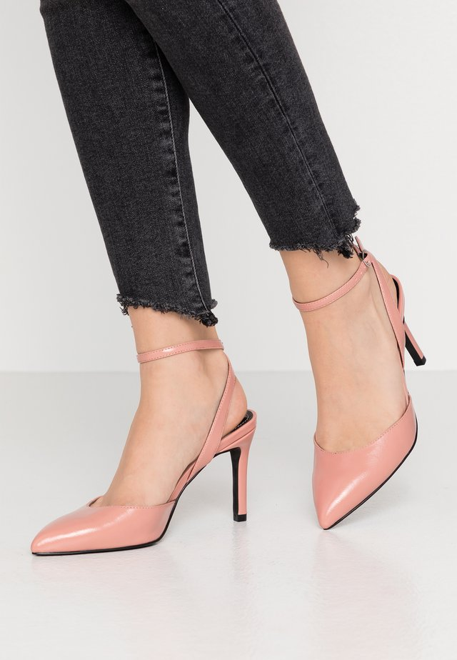 ONLPEACHES  - Klassiska pumps - rose