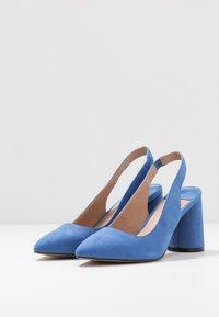 ONLY SHOES - ONLPIXIE HEELED SLINGBACK  - Szpilki - royal blue - 4