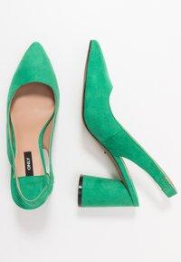 ONLY SHOES - ONLPIXIE HEELED SLINGBACK  - Decolleté - dark green - 3